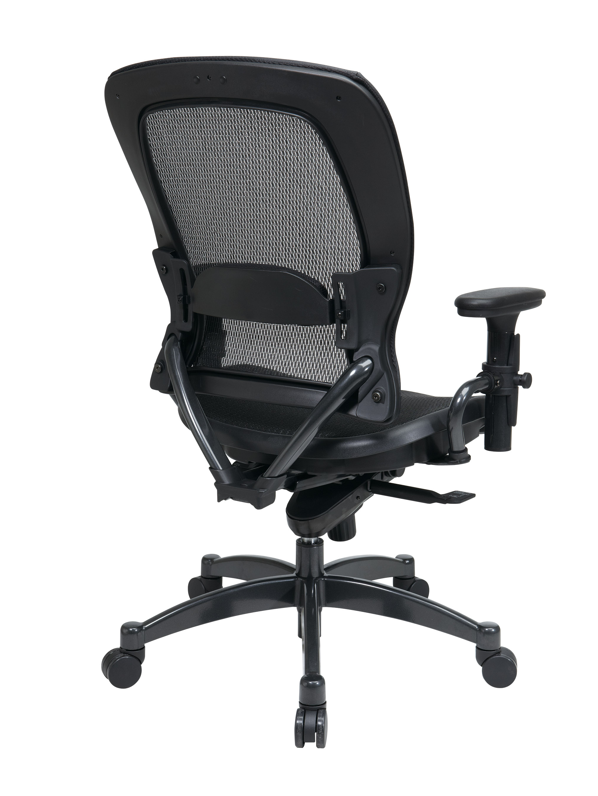 Black Breathable Mesh Chair Back - Professional Black Breathable Mesh Chair
