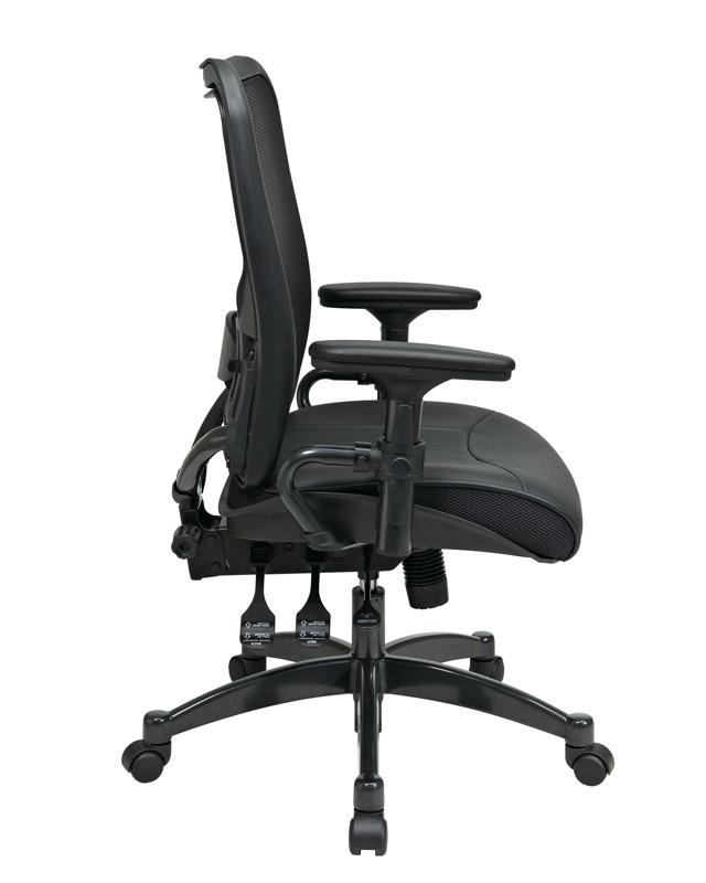 Dual-Function-Ergo-Airgrid-Leather-Chair_Side
