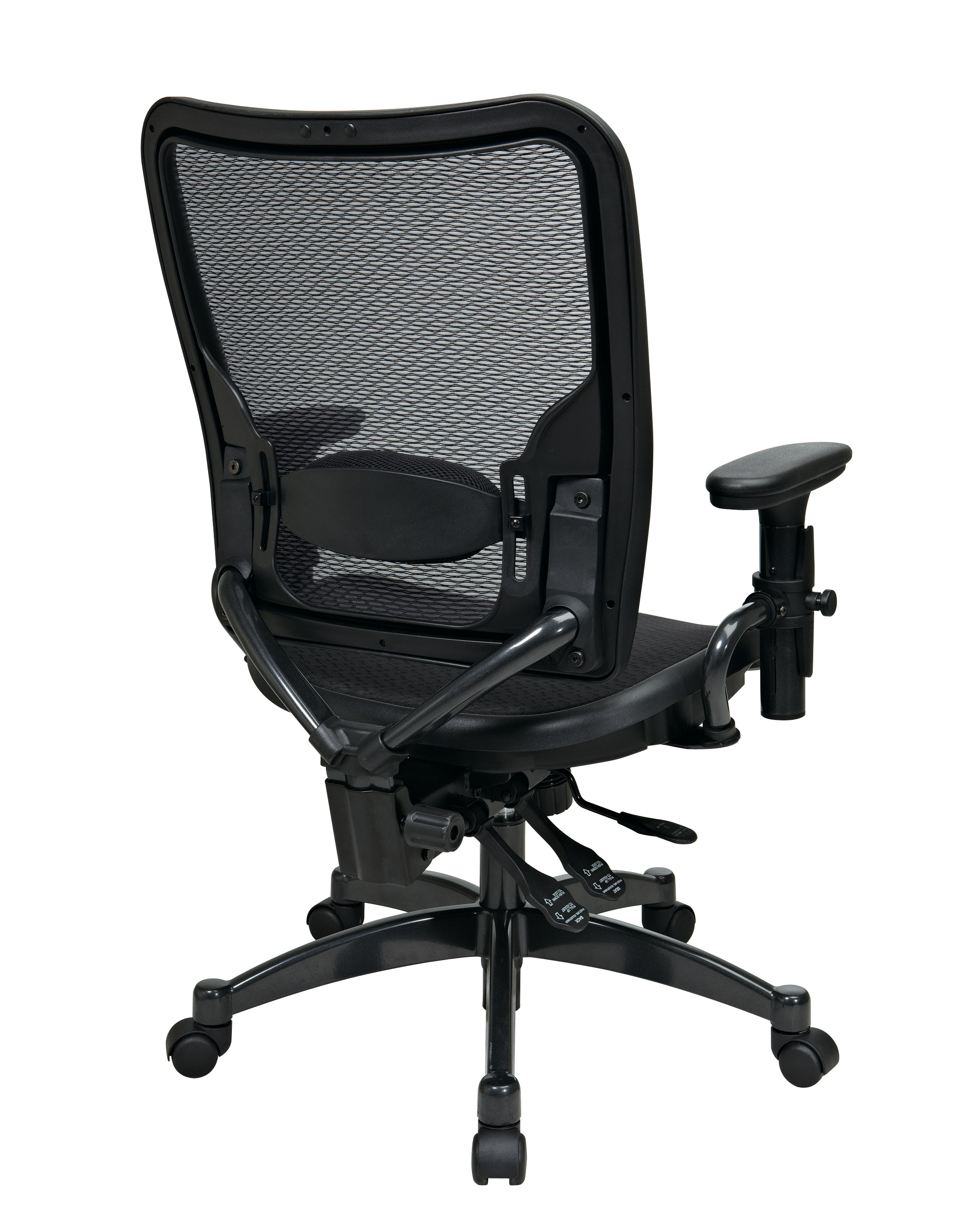 Dual Function Ergonmic Airgrid Chair Back - Professional Dual Function Ergonomics AirGrid Chair