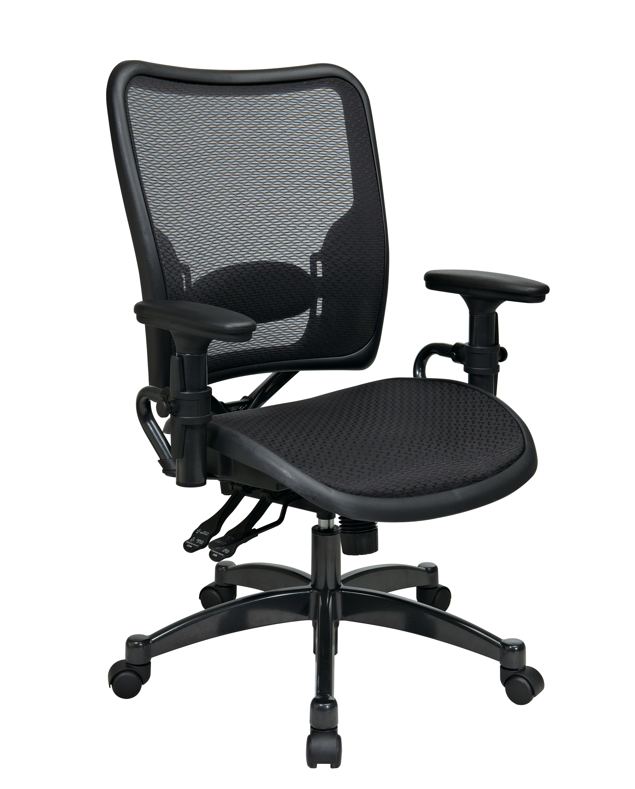 Dual Function Ergonmic Airgrid Chair Front - Professional Dual Function Ergonomics AirGrid Chair