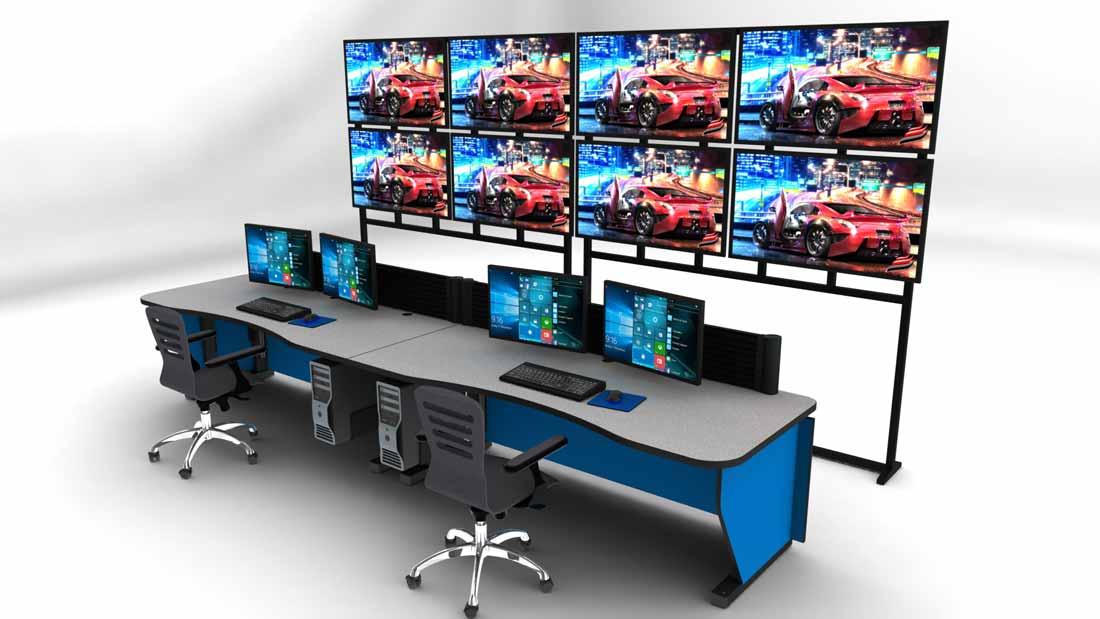 Large LED Display Mount - Large Display Mounts