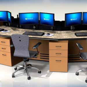 NOC Control Room Console Furniture