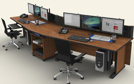 command technical furniture 1 - Command Flex Control Room/NOC Console Furniture