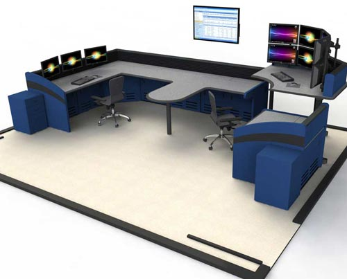 Command Watch technical furniture rendering