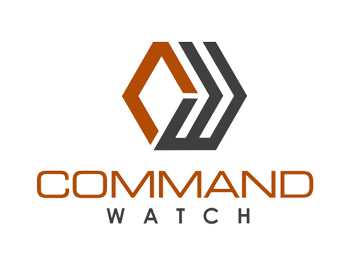 Command Watch control room consoles logo