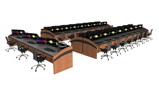 Command Watch Control Room Consoles