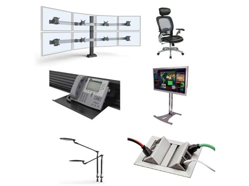 Control Room Consoles by Command Watch
