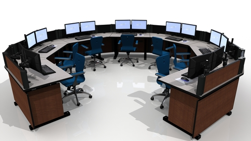 noc furniture command tech 1 - Command Flex Control Room/NOC Console Furniture