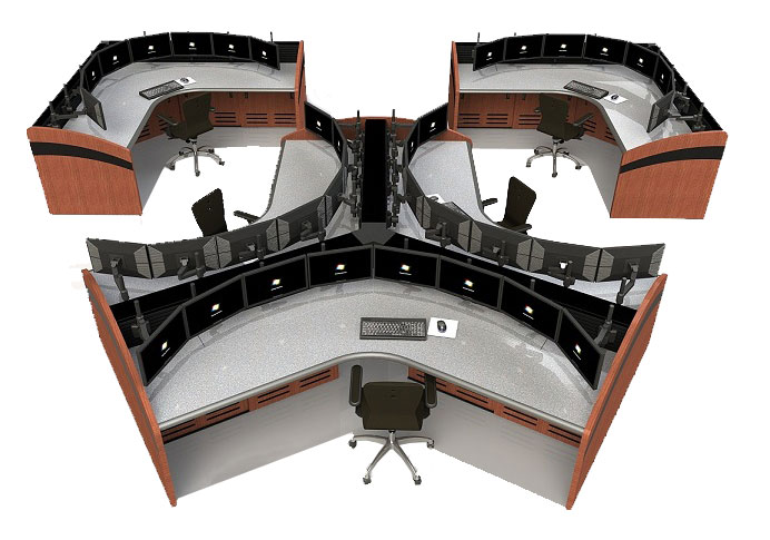NOC Furniture and Control Room Consoles