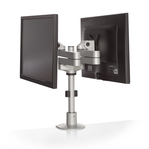 pole mount monitor arm for noc furniture 1 - Dual Oversize Monitor Arm