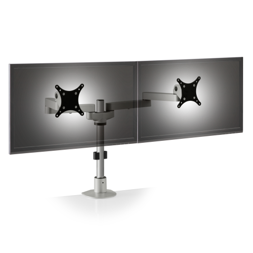pole mount monitor arm for noc furniture 2 - Dual Oversize Monitor Arm