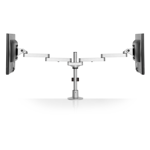 pole mount monitor arm for noc furniture 3 - Dual Oversize Monitor Arm