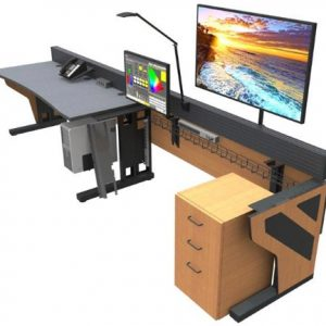 Technical Furniture rendering - 6 monitors