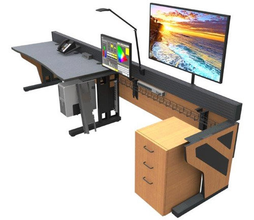 technical furniture console desk - Command Flex Control Room/NOC Console Furniture