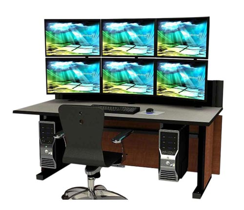 Technical Furniture Console Solutions by Command Watch