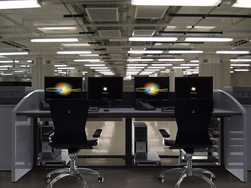 Command Tech Network Operations Center Furniture | Command