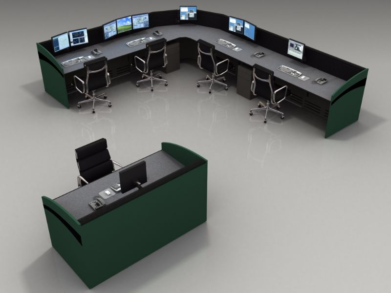 Command Watch Console Furniture For Noc And Control Room