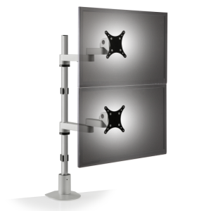 pole mount 9112 d 124 front.512x0 300x300 - Dual Tier Monitor Arm