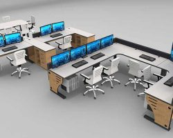 Control Room Console Furniture Gallery Rendering 1 250x200 - Process Control & Manufacturing Console Furniture