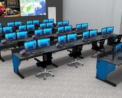 Control Room Console Furniture Gallery Rendering 2 250x200 - Law Enforcement Console Furniture