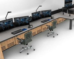 Control Room Console Furniture Gallery Rendering 3 250x200 - Process Control & Manufacturing Console Furniture