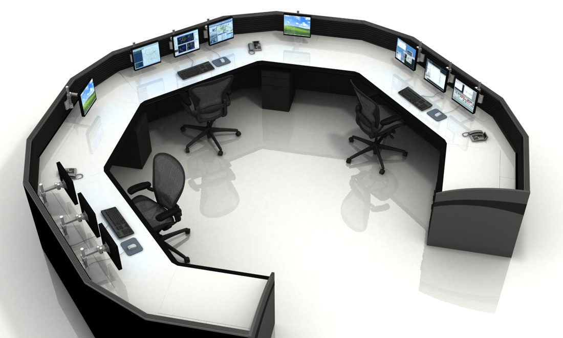 Console-Furniture-Correctional-Institute-Security-Monitoring