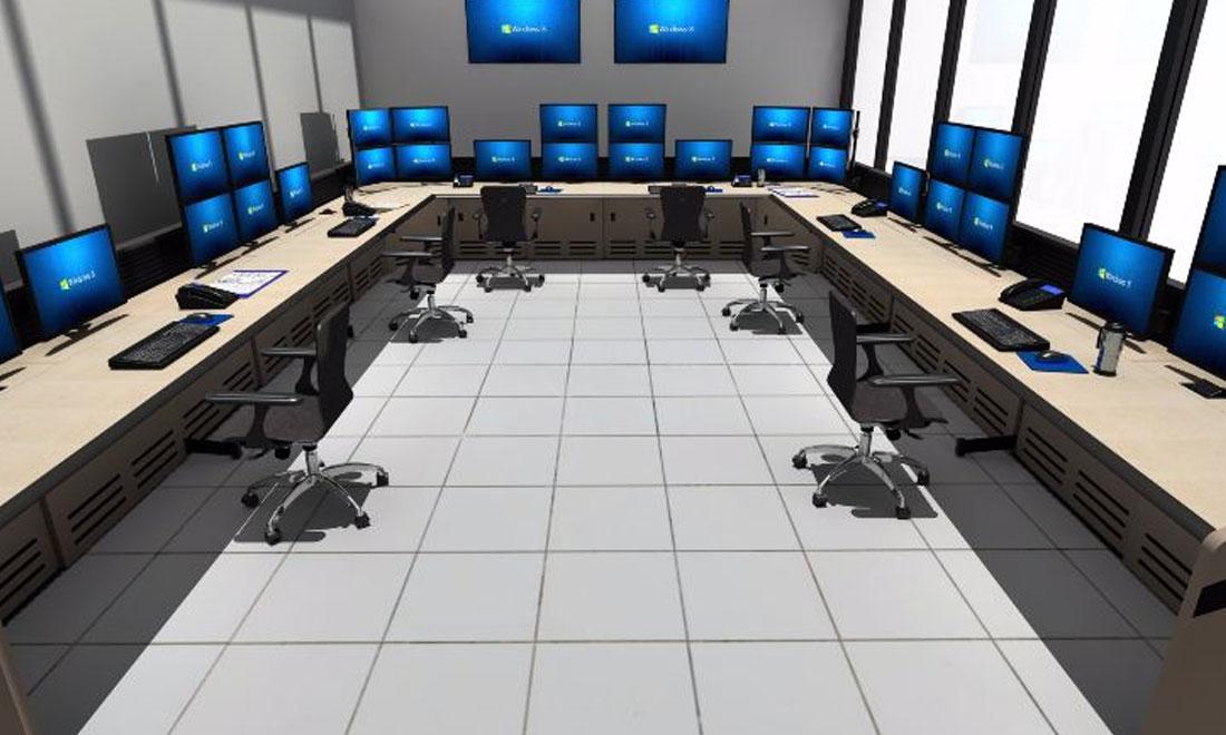 Process Control & Manufacturing Console Furniture | Command Watch ...