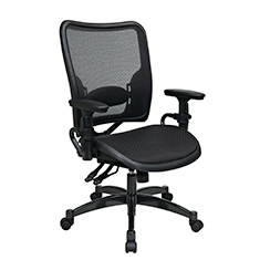 Dual Function Ergonmic Airgrid Chair Front Thumb - Professional Dual Function Ergonomics AirGrid Chair