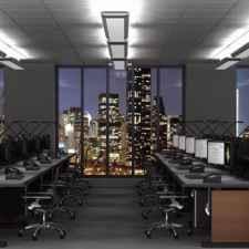 Control room consoles - multi-operator renderings